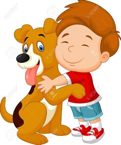 imagenes de amor con animales animados 34098918 de dibujos animados feliz muchacho joven con amor