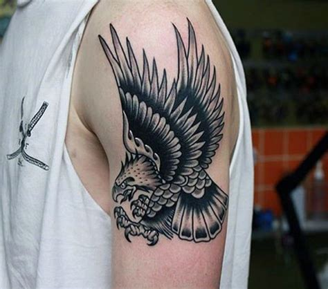 eagle tattoo for guys 75 eagle tattoos for men a soaring flight of designs