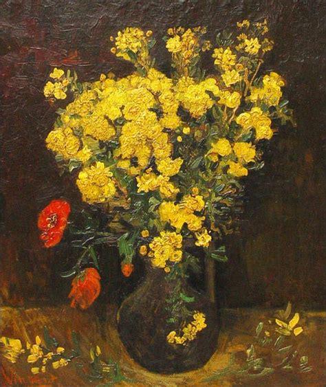 i fiori di gogh papaveri di gogh analisi