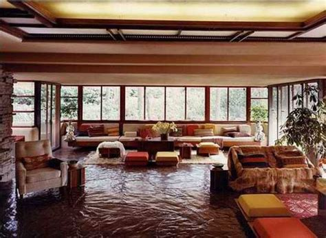 Falling Water Interior fallingwater extraordinary beautiful waterfall house in