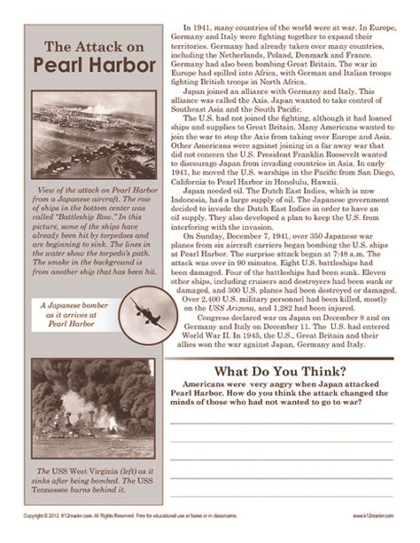 Pearl Harbor Research Paper by Research Paper On Pearl Harbor