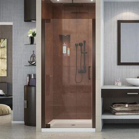 dreamline elegance shower door shop dreamline elegance 34 in to 36 in frameless
