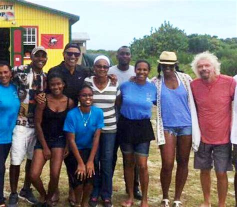 obama necker island barack obama kite surfs with richard branson in new photos