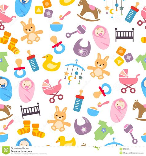 cute baby pattern stock vector image of horse collection cute baby pattern stock vector image of horse collection