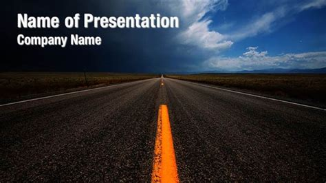Free Animated Road Powerpoint Templates Image Collections Powerpoint Template And Layout Road Powerpoint Template