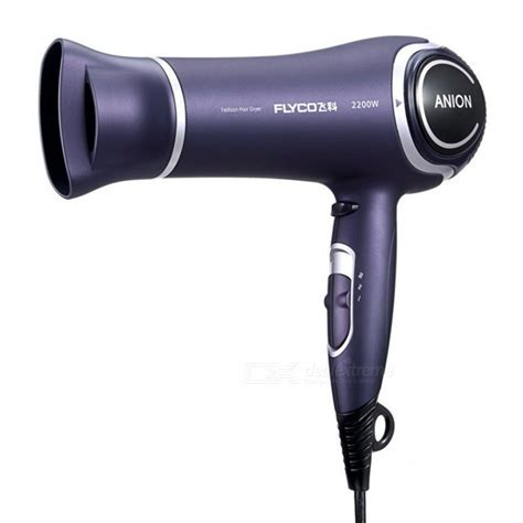And Cold Hair Dryer Philippines flyco fh6620 2200w portable home ion wind cold hair dryer purple free shipping dealextreme
