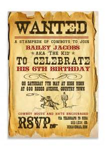 cowboy invitation template west cowboy invitation sassaby