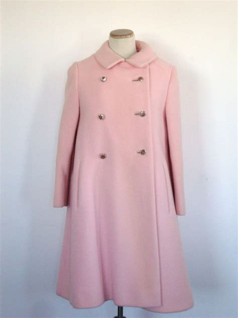 pink swing coat vintage pink swing coat 60 s pink dress and swing coat