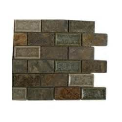home depot backsplash tile splashback tile selection emperial slate 3 in x 6