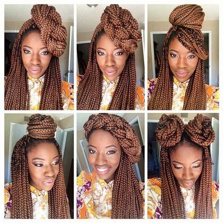 styles u can wear with braids hairstyles you can do with box braids