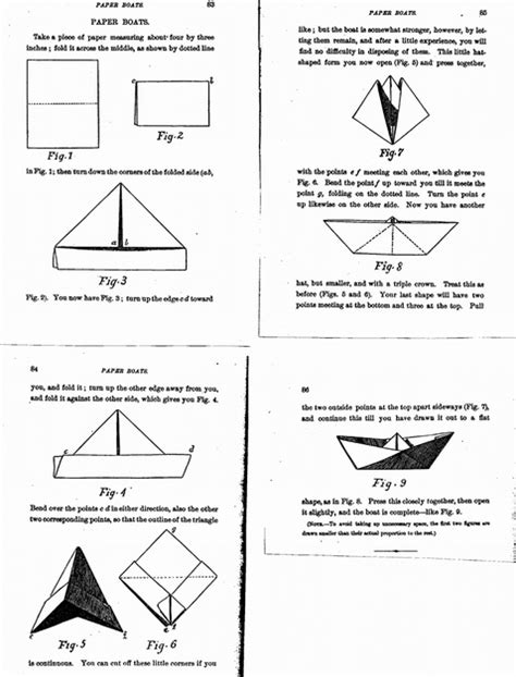 The History Of Origami - history of origami boat comot