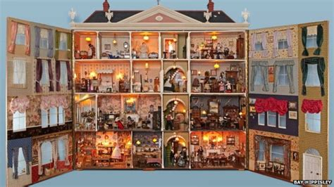 open dolls house doll house collection moves to potting sheds at newby hall