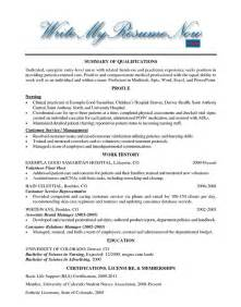 Resume Sle For Nurses Abroad Help With Nursing Resumes 28 Images Resume Help For Nurses Resume Exle Sle Travel Nursing
