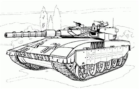 Coloring Pages Military Coloring Pages Free And Printable Army Tank Coloring Page