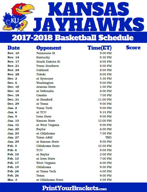 printable uk basketball schedule 2017 printable schedule sheets calendar template 2016