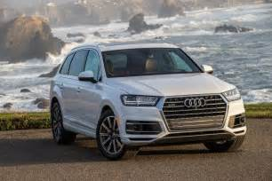 Audi Safety 2017 Audi Q7 Aces Crash Test Earns Top Safety Award