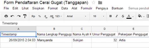 membuat formulir pendaftaran dengan google form cara membuat formulir pendaftaran online via google form