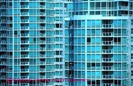 pattern energy vancouver condominium apartment building vancouver canada stock