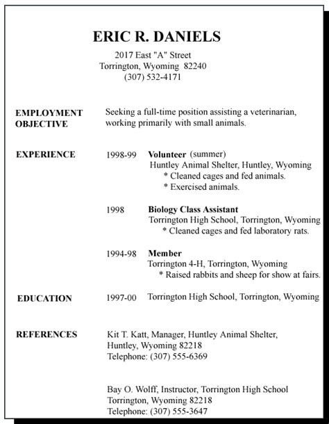 Sample Resume Objectives For Guidance Counselor by Good First Job Gse Bookbinder Co