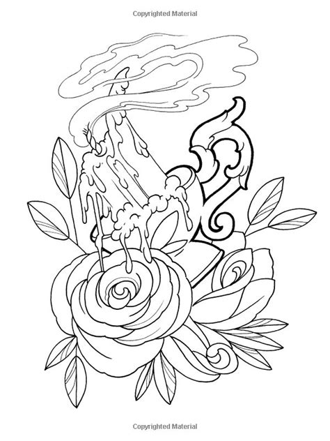 coloring book page tattoo 17 best images about creative haven floral tattoo designs