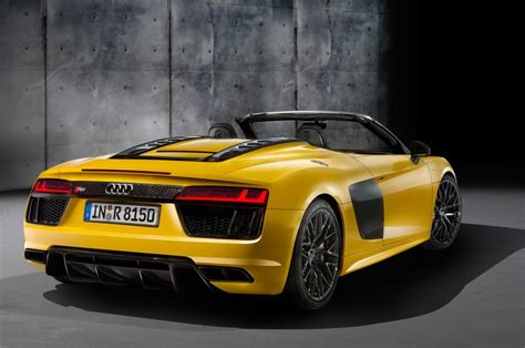 audi rs8 spyder 2017 audi r8 spyder look news cars