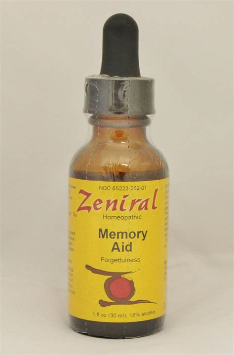 Thuja Vaccine Detox by Zeniral Home Remedy For Memory Memory Aid