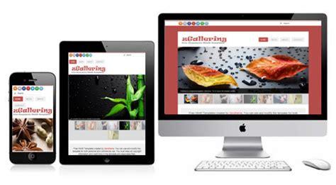 zgallering free responsive html5 theme zerotheme