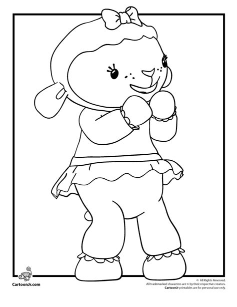 doc mcstuffins coloring pages to print coloring home