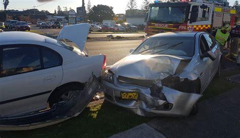 man   port macquarie base hospital   car accident  lord street port