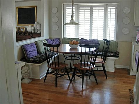 kitchen table banquette how to make a banquette for your kitchen in my own style