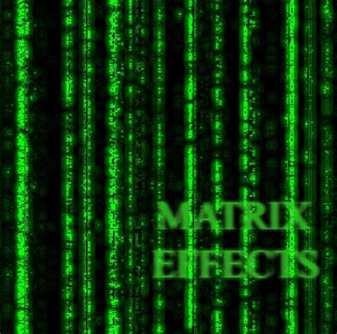 design matrix random effect matrix effect texture special effects