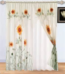 Sunflower Curtains Kitchen Meadow Vista Yard Sale Sunflower Bedspread Set Matching Curtains