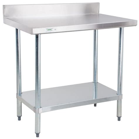 small stainless steel table regency 30 quot x 36 quot 18 304 stainless steel commercial