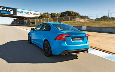 trak volvo volvo s60 polestar track test with video motor trend