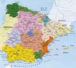 Map If Spain by Spain Map Tripadvisor