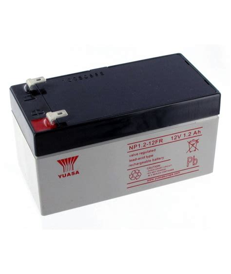 Baterai 12v 1 2ah battery lead yuasa 12v 1 2ah np1 2 12fr batteries4pro