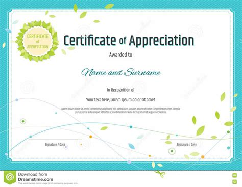 certificate of appreciation template printable printable certificate of appreciation templates