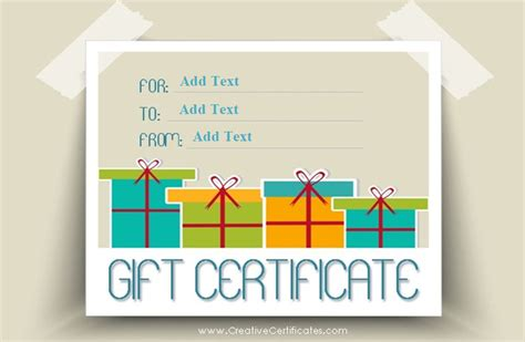 template small gift cards word 173 free gift certificate templates you can customize