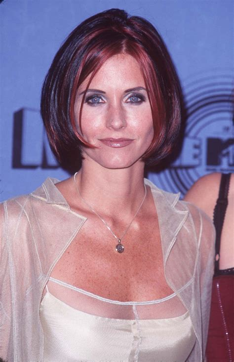 Courteney Cox, Before and After   Beautyeditor