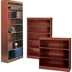 Staples Bookshelves Safco 174 Workspace Square Edge Veneer Bookcases Staples 174