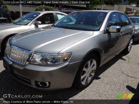 2009 Lincoln Mkz by Vapor Silver Metallic 2009 Lincoln Mkz Awd Sedan