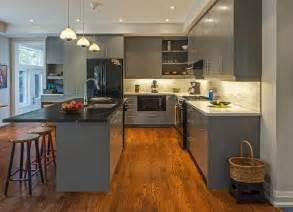 Gray Kitchen Floor Chic Design Ideas For A Grey Kitchen