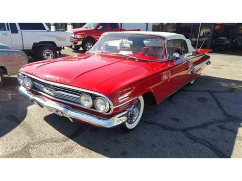 1960s impala for sale 1960 chevrolet impala for sale classiccars cc 977692