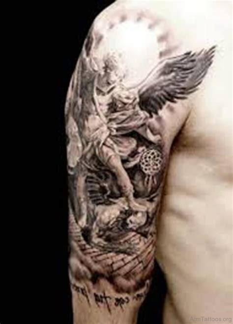 guardian angel tattoo design 77 guardian tattoos on arm