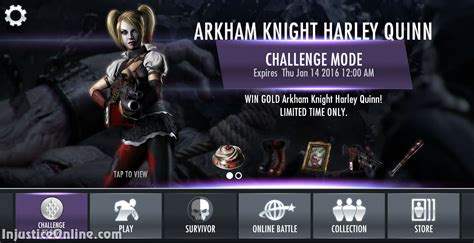 us mobile injustice gods among us mobile the arkham harley