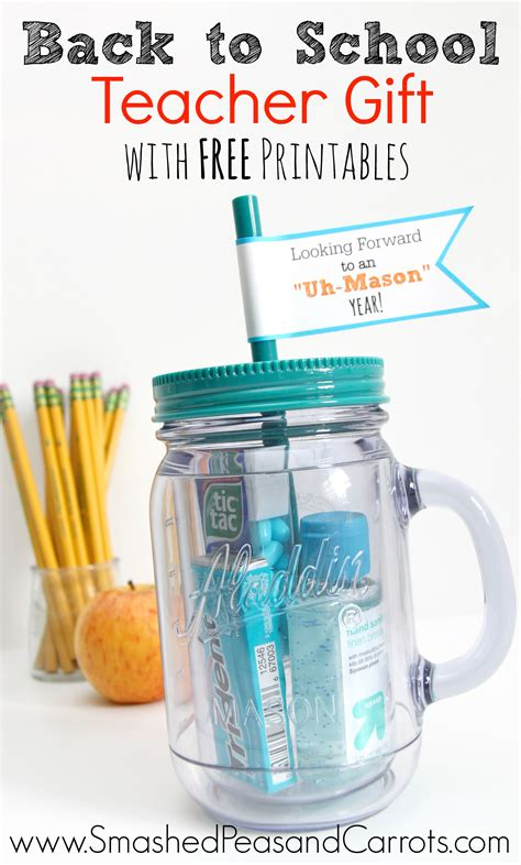 Tb008 Back To School Tumbler 1 jar tumbler gift with free printables smashed peas carrots