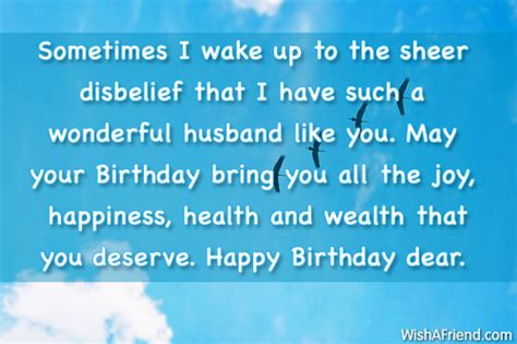 Birthday Wishes Health Wealth And Happiness Birthday Wishes For Husband Page 3