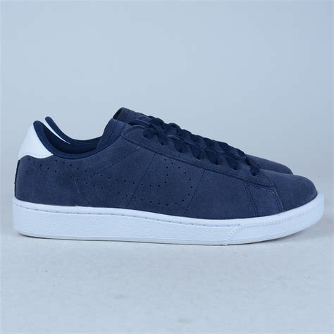 Nike Sweater Sleting Cs Navy Nike Tennis Classic Cs Suede Sneakers Midnight Navy 829351