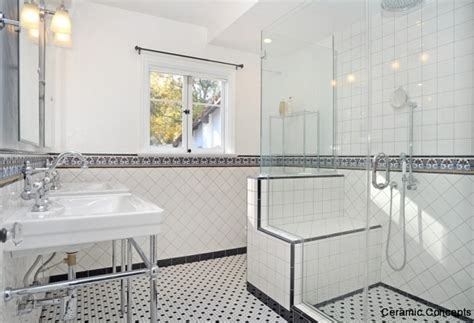 decorative tiles  bathroomsmodern  spanish deco tiles