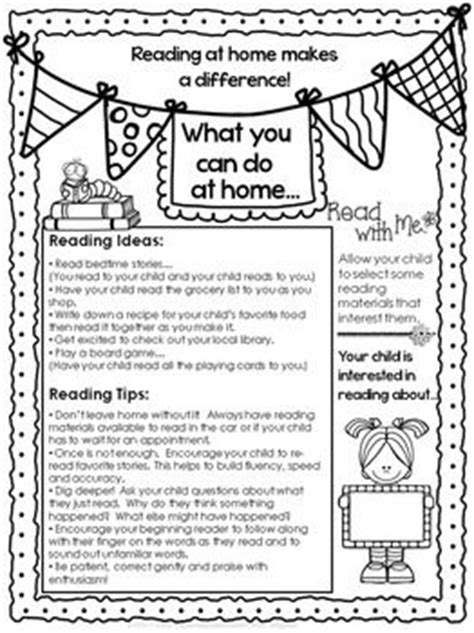 Parent Letter For Reading At Home 25 Best Ideas About Reading At Home On Why Read Parental Support And Curriculum